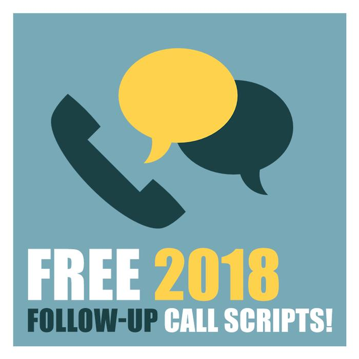 Free 2018 Real Estate Follow-up Call Scripts! Made by offrs.com for our clients and friends in the re industry!
