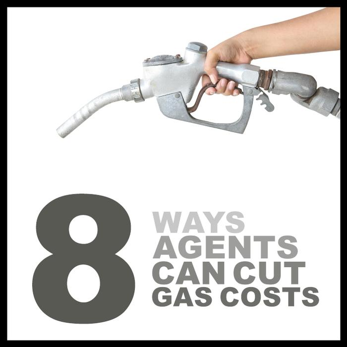 8 Ways Agents Can Cut Gas Costs (great tips for an efficient 2018)! Cost savings advice by offrs.com