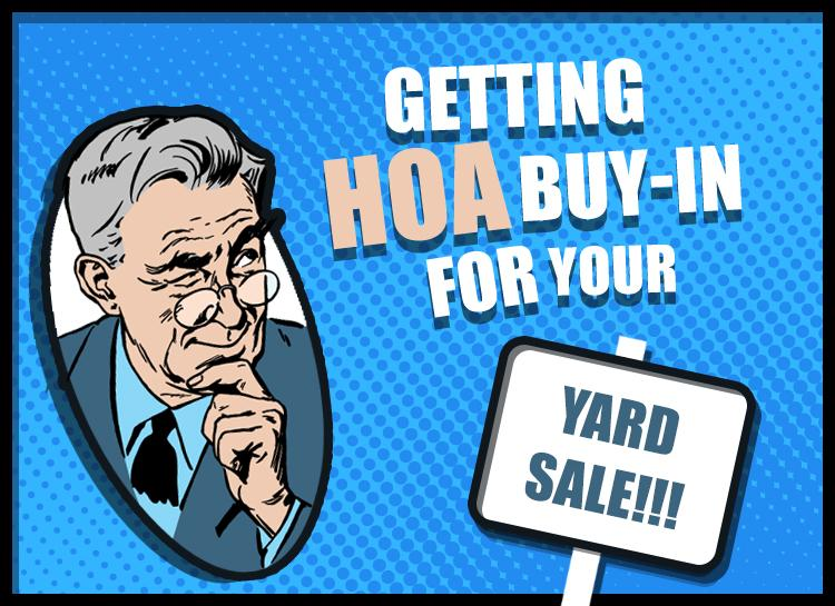 Organizing the Ultimate Community Garage Sale (with the help of your HOA)! - an offrs.com review