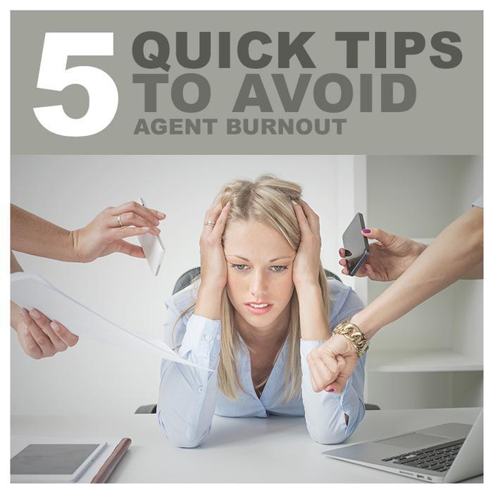 5 quick tips to avoid agent burnout - Helpful advice for real estate pros from offrs.com